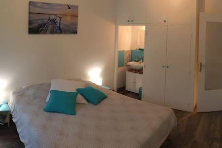 Chambre spacieuse, logement calme et bien situé.