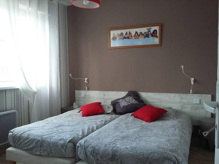 Appartement NON FUMEUR (40 m2) proche Vesoul