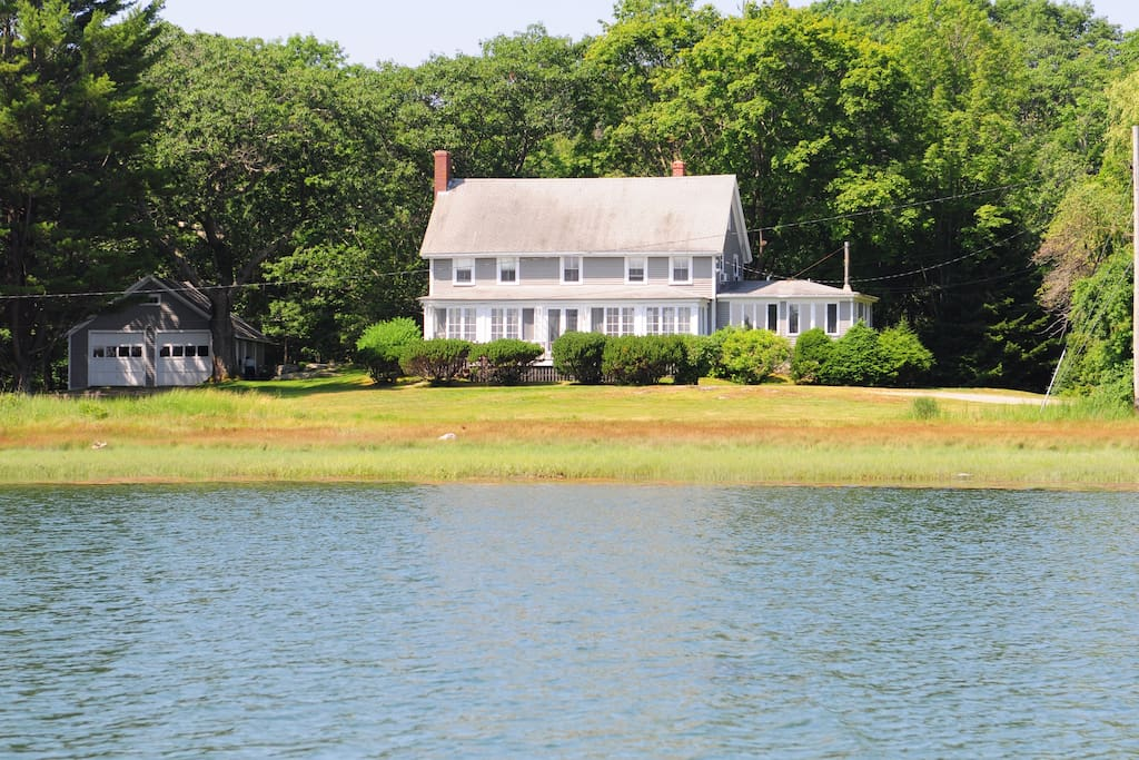 Water view of house