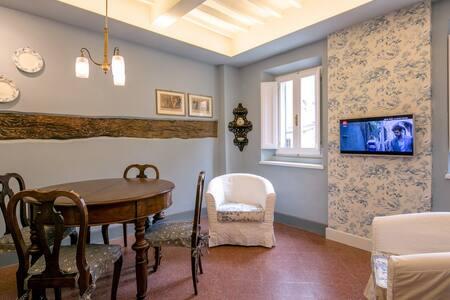 La Finestra sulla Piazza, intimate nest - La Villa - Farneta - Apartment