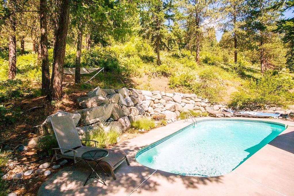 Heated in-ground pool available May through September
