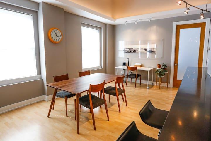 Dining room table & work desk