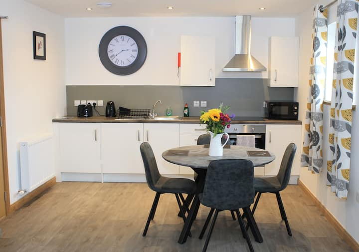 Brand new modern apartment in central Kirkwall
