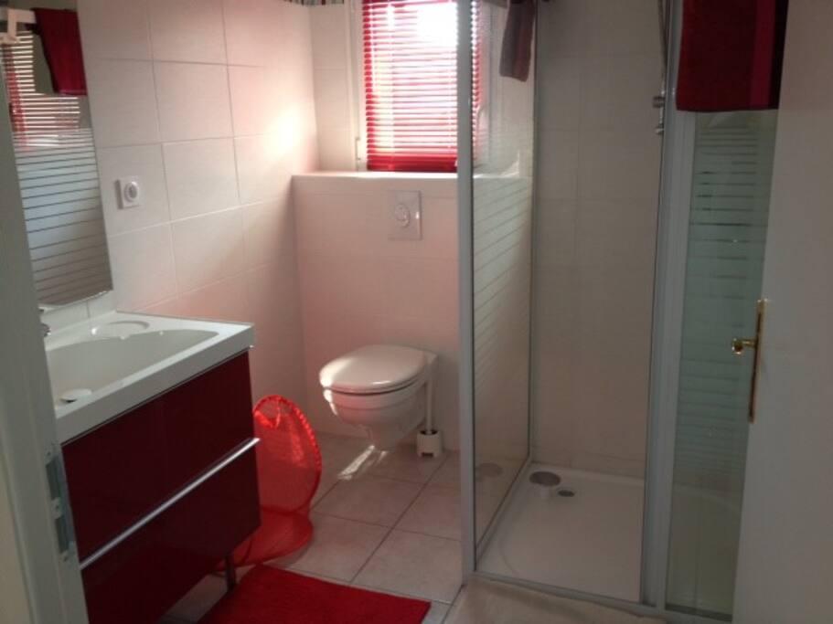La salle de bain et WC