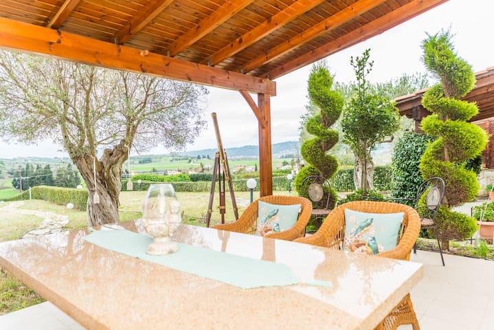 Melani's Summer House in Poseidi