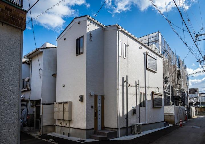 HANASTAY花渓居 · 嵐(ARASHI)整栋 全新精装舒适便利 徒步8分四桥线 可住四人