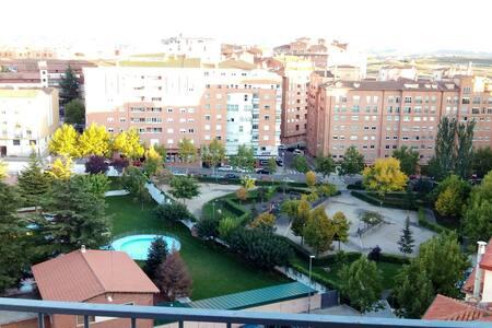 Habitación individual en Teruel