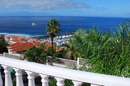 LUXURY PANORAMIC SEA VIEW APARTMENT - Santiago del Teide - Wohnung