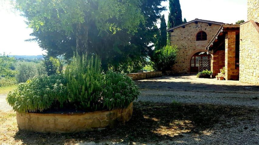 La Cantinetta in colonica Toscana con piscina - インプルネータ