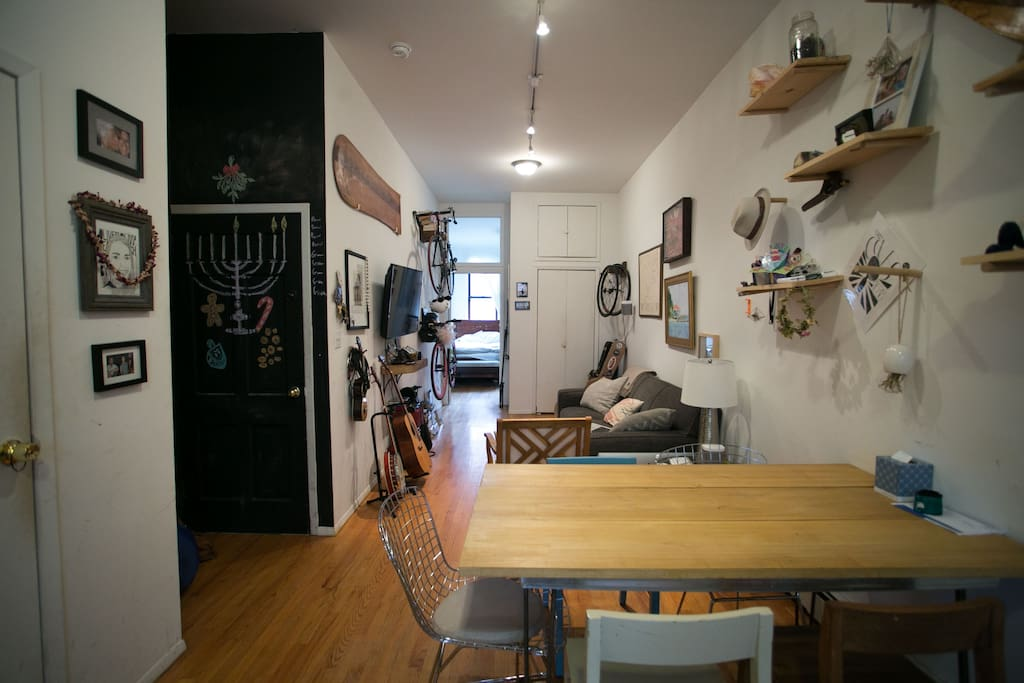 Williamsburg Apartment W Backyard Apartments For Rent In Brooklyn New York United States