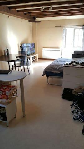 Super studio en plein centre ville - Saumur - Byt