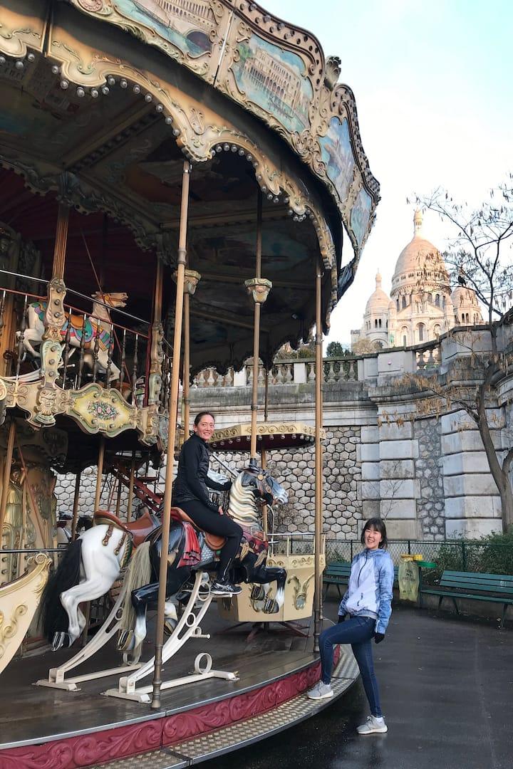 La magie du vieux Montmartre