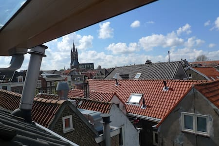 Historic Ctr Canal Home next to Nieuwe Kerk w/View - Delft - Hus