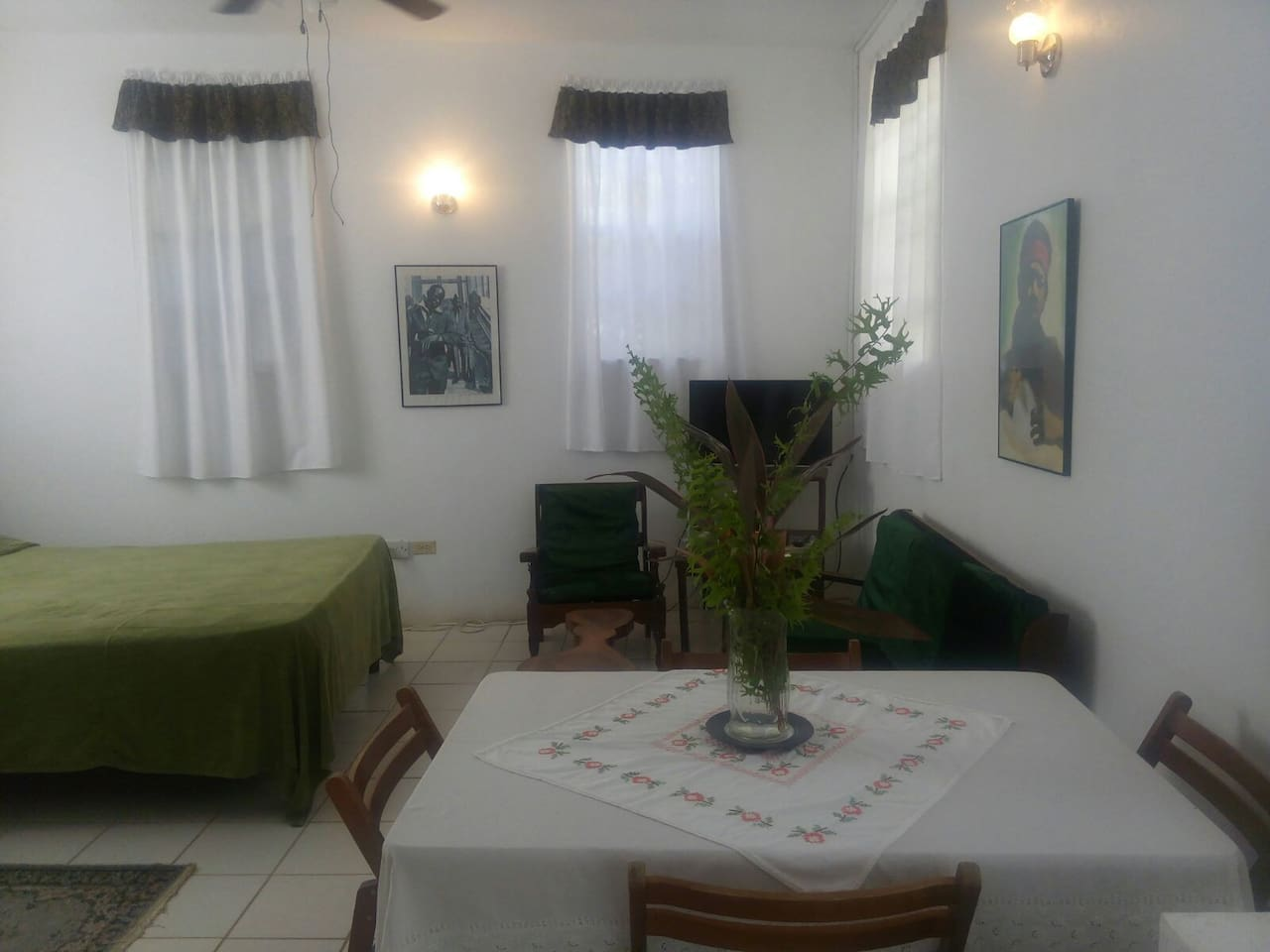 Unit two, room, table corner