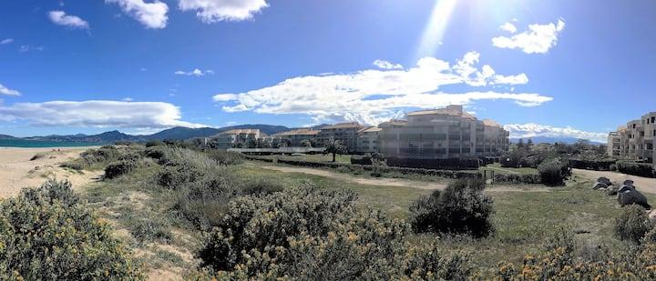 Appartement St-Cyprien front de mer