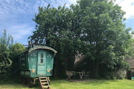 Traditional 100 yr+ Gypsy Caravan