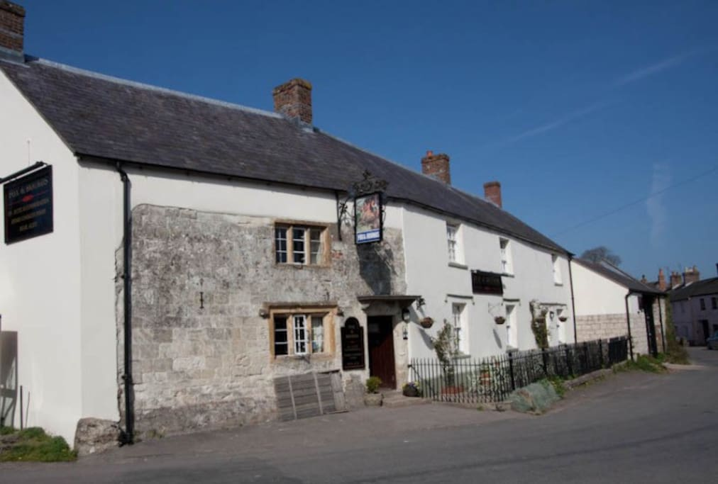 The village pub -The fox and hounds
