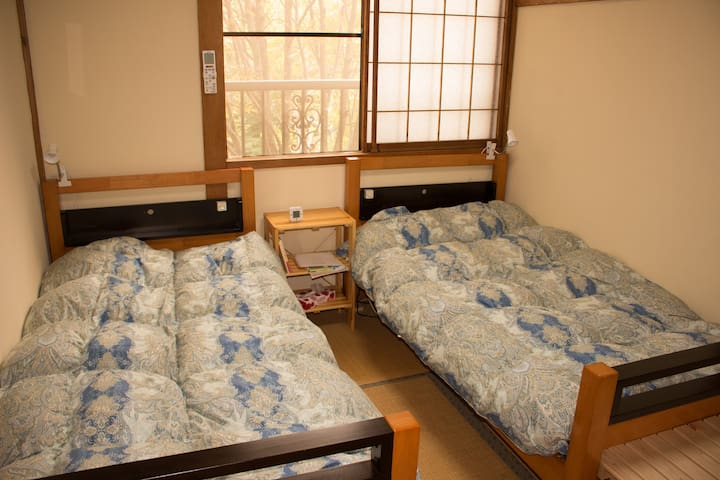 Myoko Mountain Lodge Japanese Twin Room - Myoko - Гестхаус