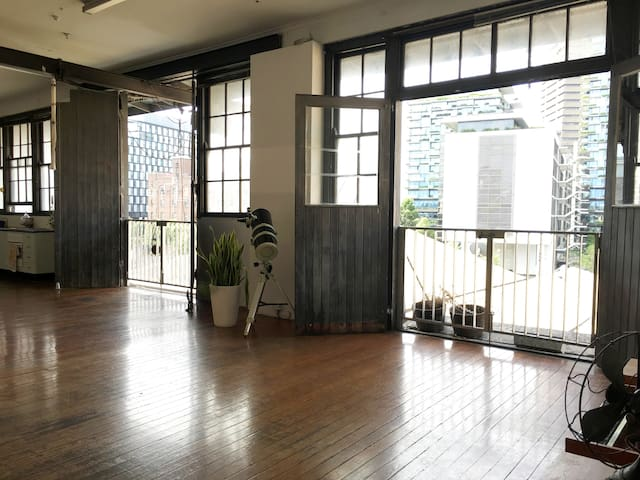 Stunning Artist Warehouse with View - Chippendale - Appartement