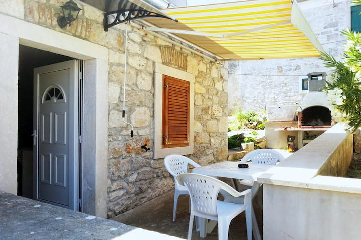 Studio flat with terrace Veli Rat, Dugi otok (AS-15006-a)