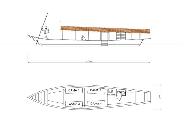 La Merope Boat Trip Amazon