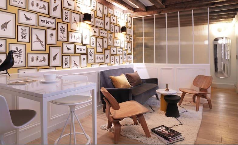 L'Art de vivre à la française au coeur de Paris.