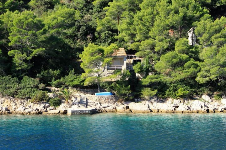 Two bedroom house near beach Cove Stončica (Vis) (K-8894)