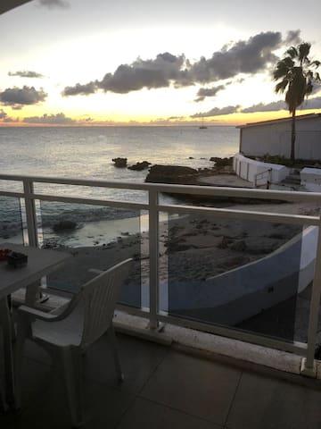 Ocean front studio