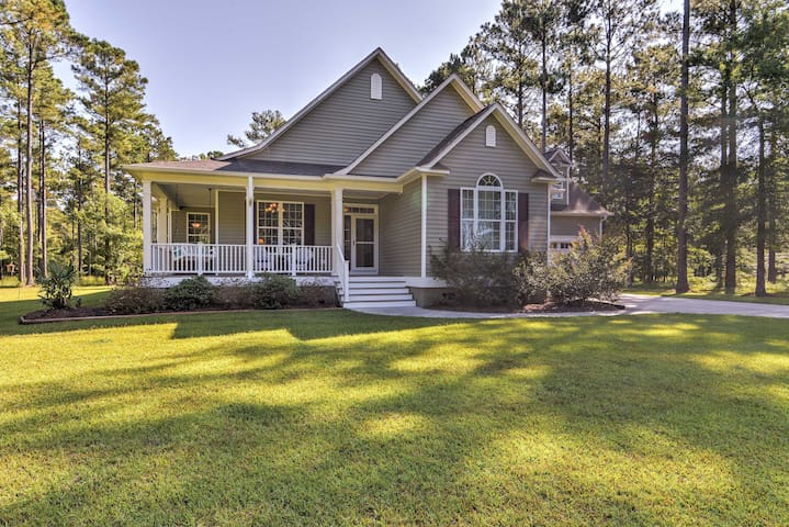 Oriental House on 1 Acre w/ Wraparound Porch!