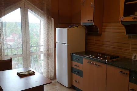 Two-bedrooms apartment in a quiet area of Kiev
