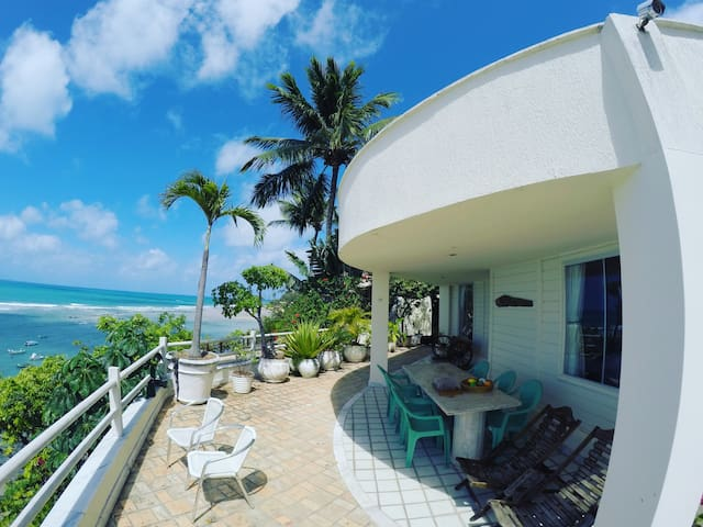 Cozy Beachfront Villa in Pipa Beach - Amazing view