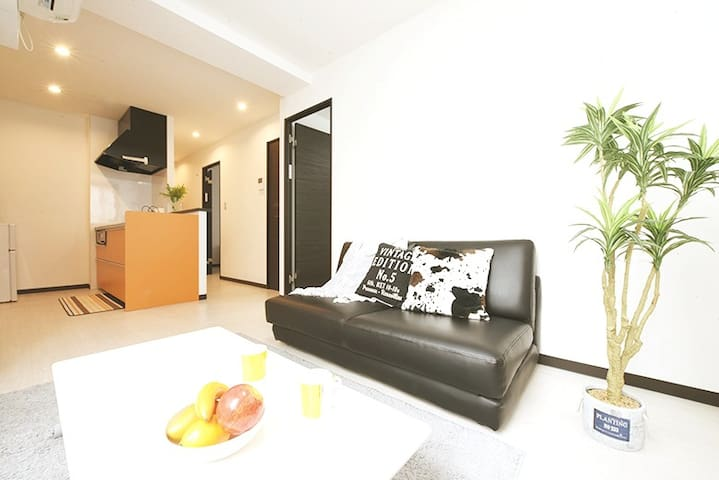 (0186)Great Location★Easy Access to Sapporo Sta☆