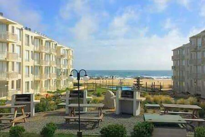 Arriendo playa, Litoral Central, Borde Mar, Chile - Las Cruces - Apartemen