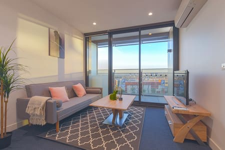 New Melb Star Apt/1min to Harbour Town/Free Tram - Docklands - Apartamento