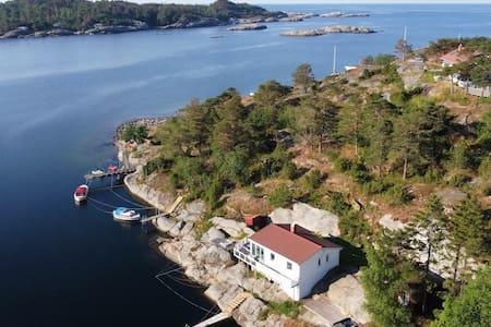 """""""Knatten"""" cottage by the sea"""