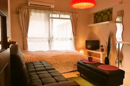 CENTRAL FUKUOKA Best LOCATION!! - Appartement