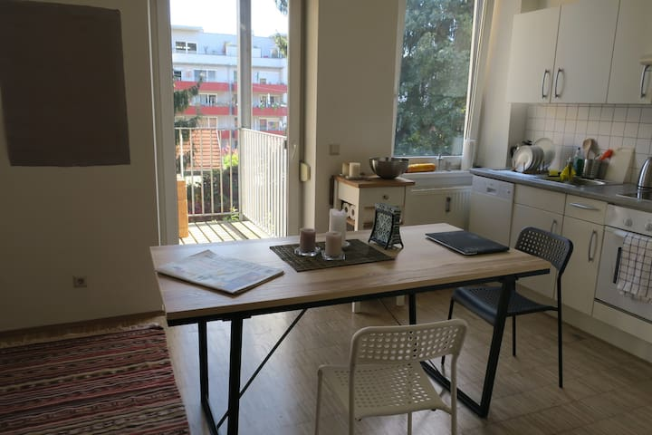 Cosy and stylish 2-room apartment, TERRACE + BIKE