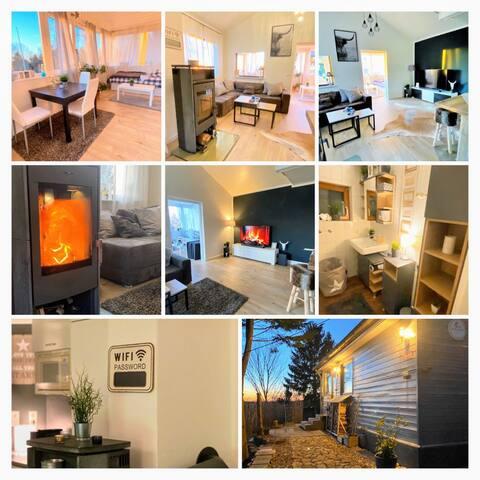 Designer House Ferienhaus ganzes Haus Urlaub ❤️