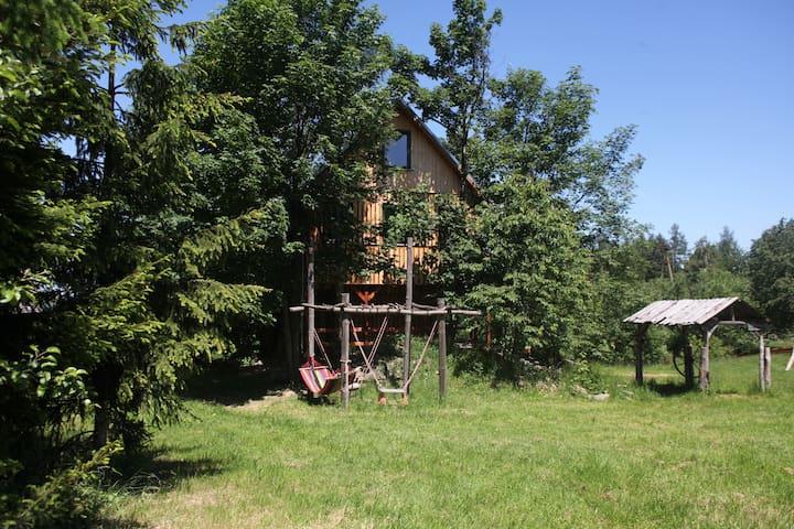 Leśny Domek w Dolinie Harmonii - jeleniogórski - Maison