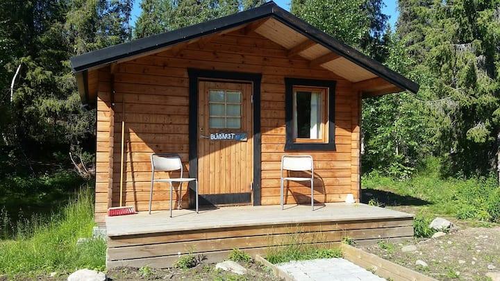 """Cabin """"Blåbäret"""" at our sleddog kennel"""