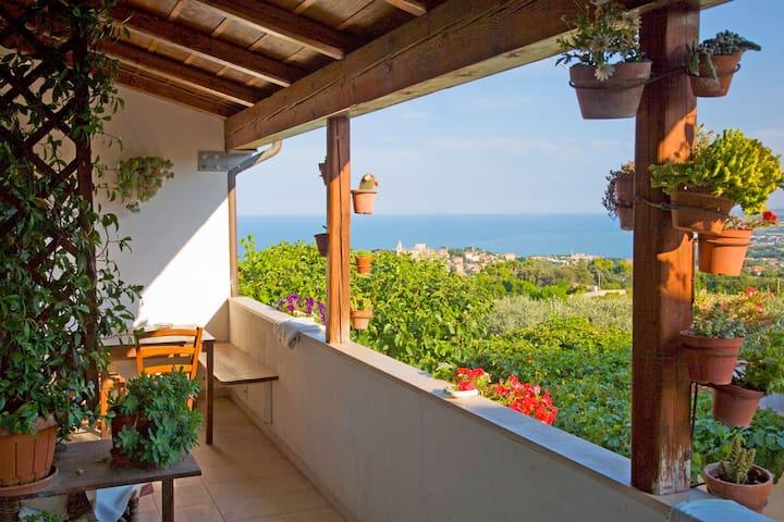 Panorama unico per appartamento I Sassi Neri - Sirolo