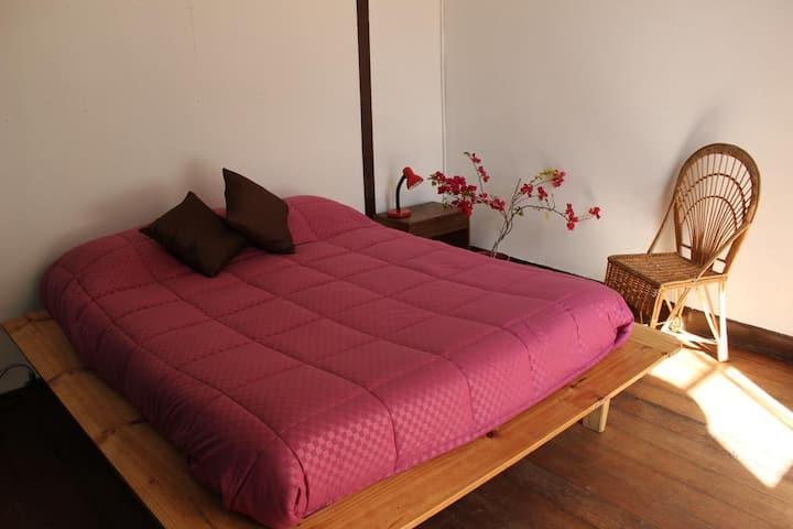 Beautiful private double room Cerro Concepción