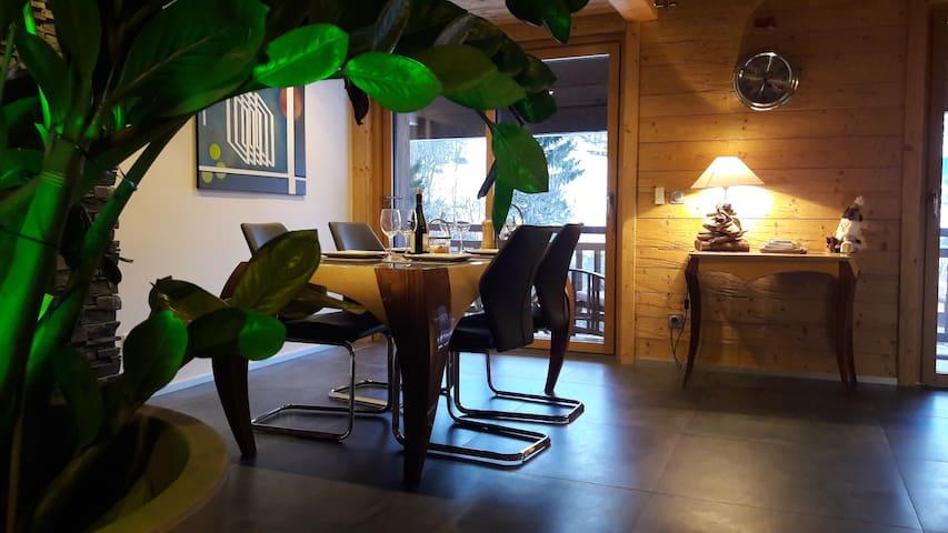 luxueux appartement duplex dans chalet (75 m2)