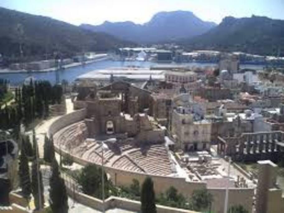Anfiteatro Romano Cartagena. (Bien de interés Cultural)