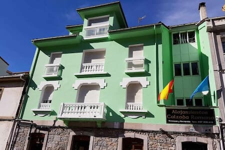 Hotel con vistas al río Pigüeña para tres