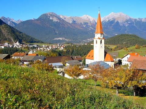 "Māja""SUNNE""Top 2  eko-veida māla māja. Pitztal/Tyrol"
