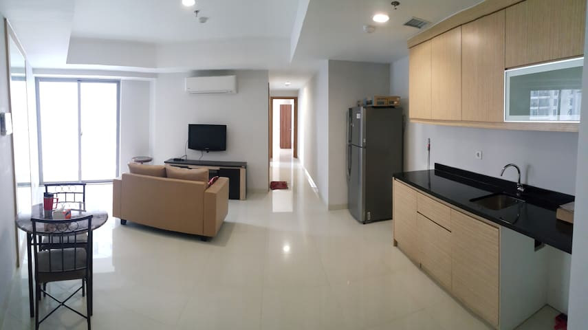 New & Cozy 2BR Apartment in Kemayoran Near JIIEXPO - Noord-Jakarta - Appartement