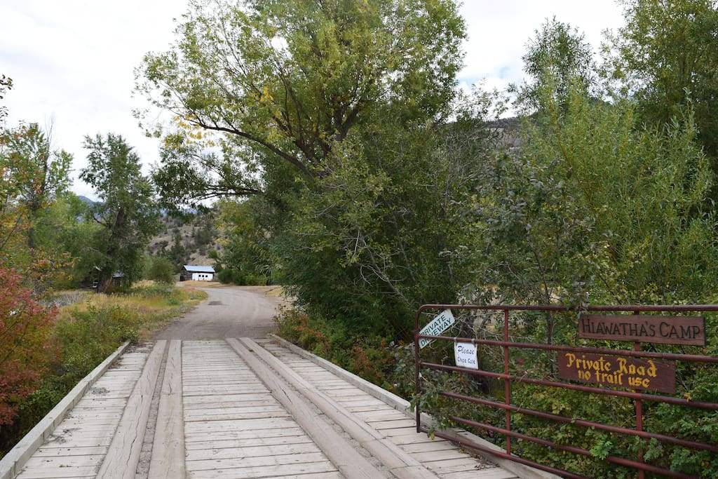 The Entrance to Hiawatha's Camp