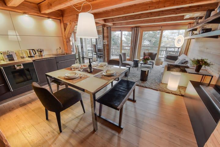 Chalet ELUSSA - Centre Alpe d'huez 6/8 pers