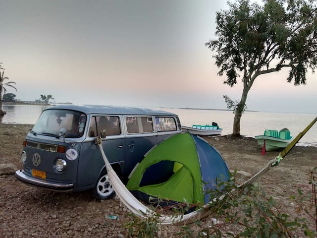 Holiday trip of sindh in classic Volkswagen Camper